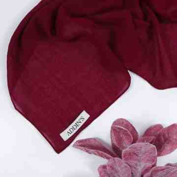 Cotton Voal Maroon image
