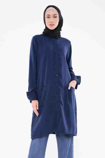 Nahar Long Shirt Navy image