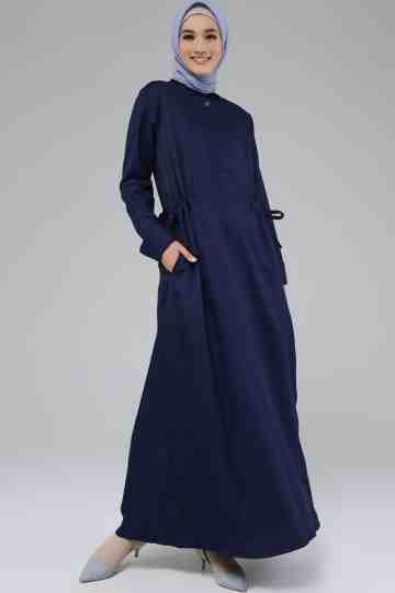 Lyla Dress Navy image