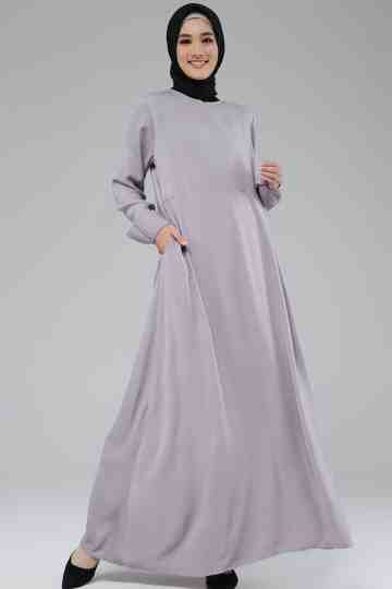 Amina Dress Grey image
