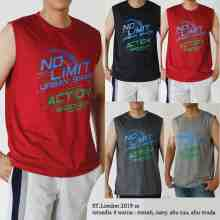 Amaris Fashion - Singlet Pria Dewasa - Kaos Kutang Kasual / Tanktop Gym / No Limit