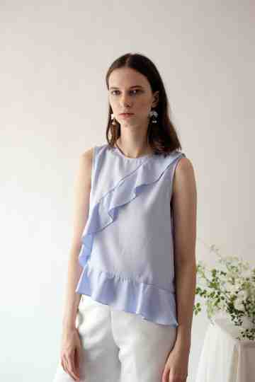 Blue Aria Top