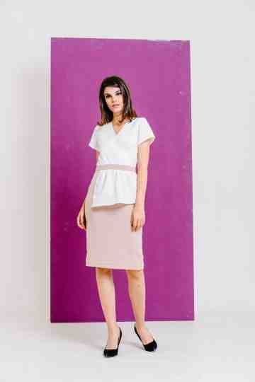 Milla Dress White image