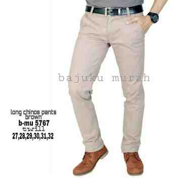 CELANA CHINOS SOFT BROWN 5767