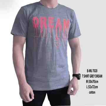T SHIRT DISTRO GREY DREAM 7020