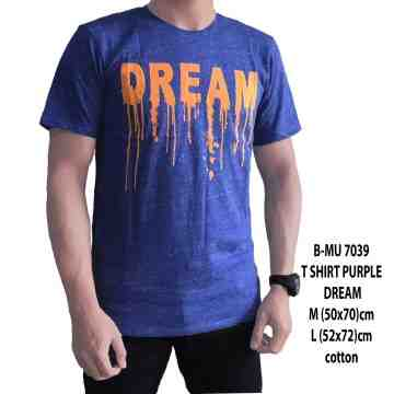 T SHIRT DISTRO DREAM PURPLE 7039