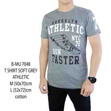 T SHIRT DISTRO ABU MUDA ATHLETIC 7048