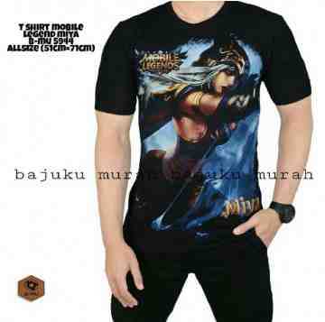 TSHIRT MIYA MOBILE LEGENDS 5944