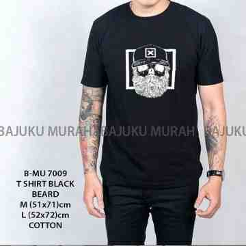 TSHIRT DISTRO BLACK BEARD 7009
