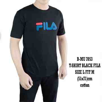 T SHIRT BLACK FILA 7053