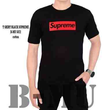 T SHIRT BLACK SUPREME 5872