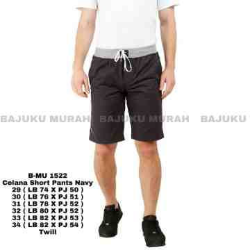 CELANA SHORT PANTS NAVY 1522