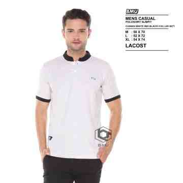 POLO SHIRT SHANGHAI MISTY LIST BLACK 8073