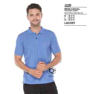 POLO SHIRT BLUE PURPLE 8076