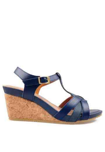 Fairy Wedges Sandals Navy