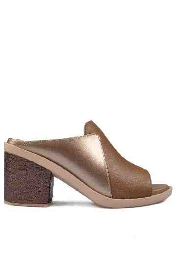 Nicole Heels Sandals Brown