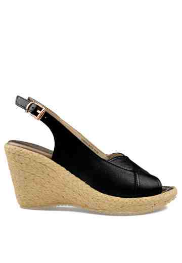 Sabrina Wedges Black