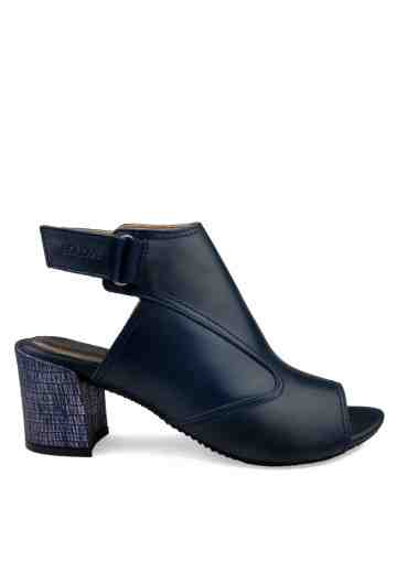 Soiree Heels Sandals Navy Blue