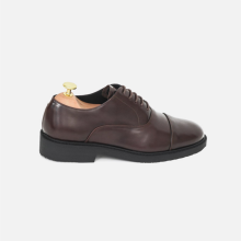 Oxford Plain Captoe Darkbrown