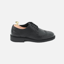 Derby Wingtip Full Brogue Full Black