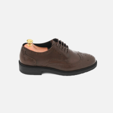 Derby Wingtip Full Brogue Brown