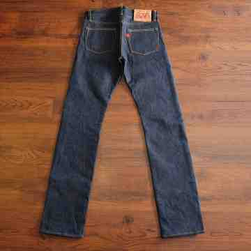TIGRIS 17 Oz Unsanforized DEEP INDIGO SELVEDGE image