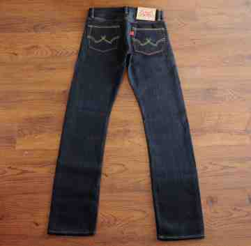 OLDCAT 17 OZ Unsanforized FULL SLUB HW SELVEDGE image