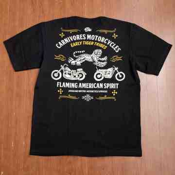 CARNIVORES MOTORCYCLE TEE image