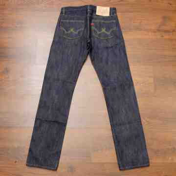 RACER 14.5 OZ Easy Indigo Sanforized Selvedge image