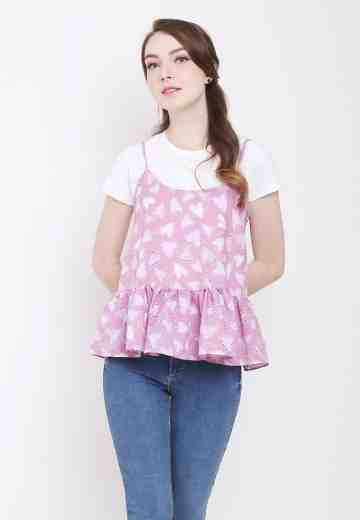Asti Top in Pink image