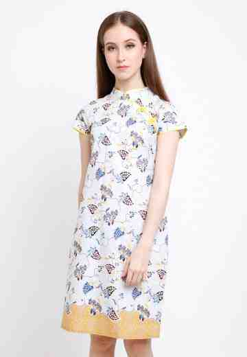 Asoka Dress in Yellow image