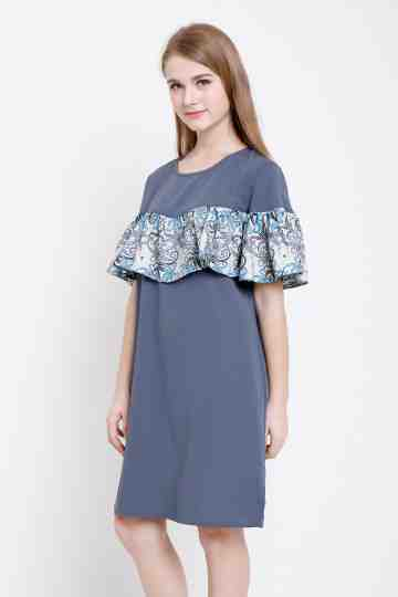 Faraya Dress in Grey image