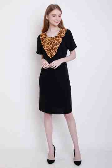 Agni Dress in Black image