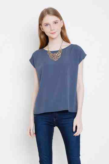 Anna Top in Grey image