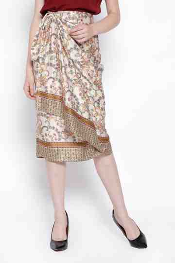 Zia Skirt in Brown image