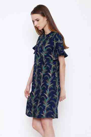 Adita Dress Navy image