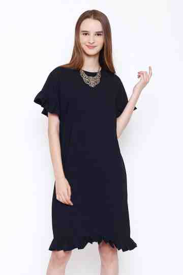 Lucy Dress in Black image