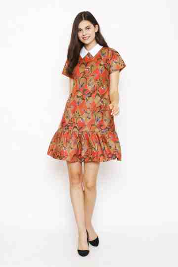 Karla Dress in Red image