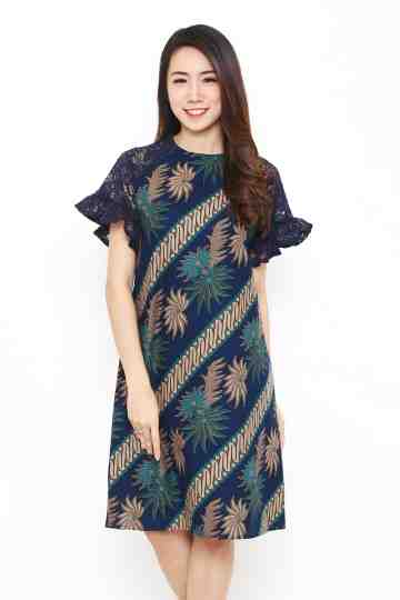 Tisha Dress Navy image