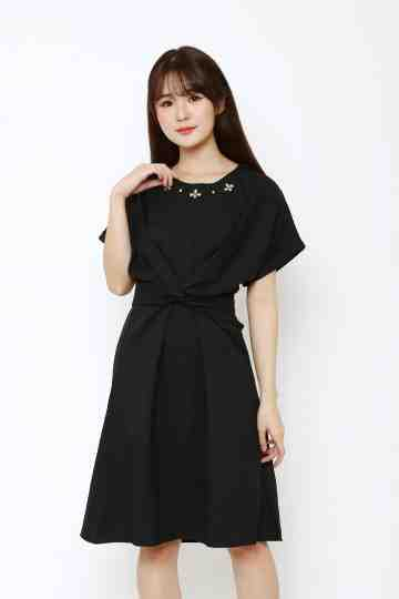 Emma Dress Black image
