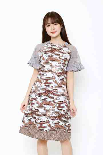 Tisha Dress Grey image