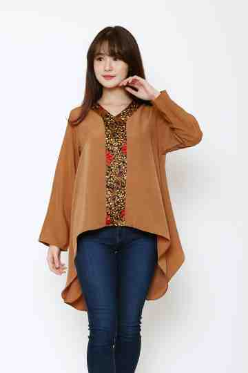 Aqilla Combi Top Brown image