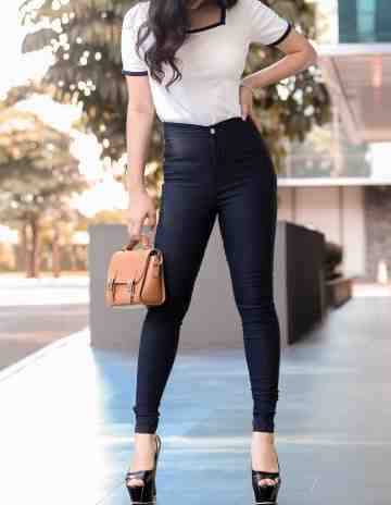Miss Hotty Jegging Navy