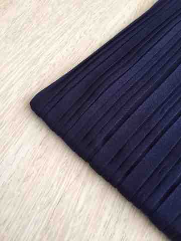 linea pleats light navy image