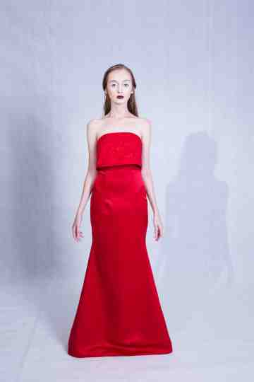 Capella Dress Red image