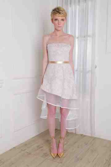 Reina Dress White image