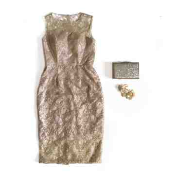 AMARYLLIS DRESS - GOLD image