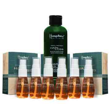 "Humphrey skin care Hairloss ""Big"" package (1 shampoo + 6 serum)"