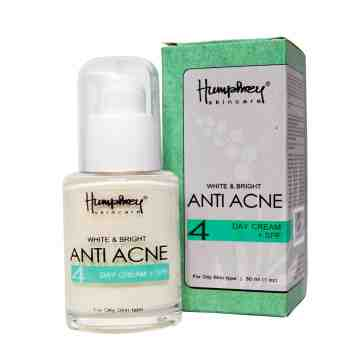 "Humphrey skin care White & Bright ""Anti Acne"" Day Cream 30ml"