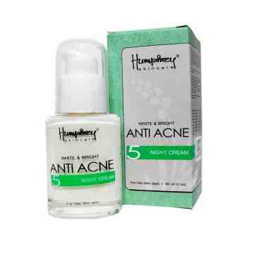 "Humphrey skin care White & Bright ""Anti Acne"" Night Cream 30ml"